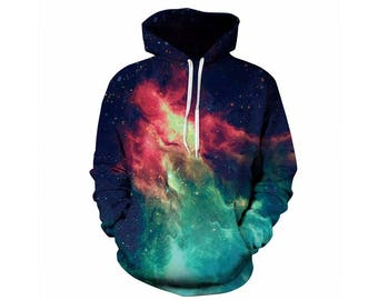 Galaxy Hoodie, Galaxy Sweatshirt, Galaxy, Galaxy Jumper, Galaxy Hoodies, Space, Space Hoodie, 3d Hoodie, 3d Hoodies, Hoodie - Style 8