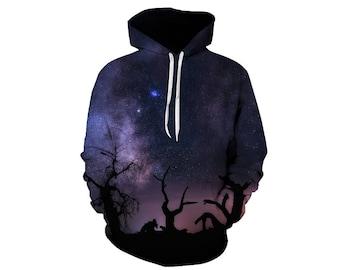Galaxy Hoodie, Galaxy Sweatshirt, Galaxy, Galaxy Jumper, Galaxy Hoodies, Space, Space Hoodie, 3d Hoodie, 3d Hoodies, Hoodie - Style 62