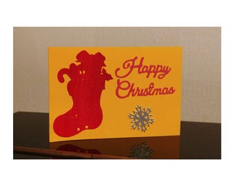 Happy Christmas Card, Christmas greeting card