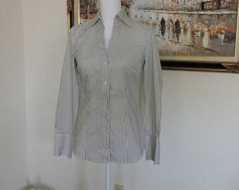 Size Small womens pinstripe blouse