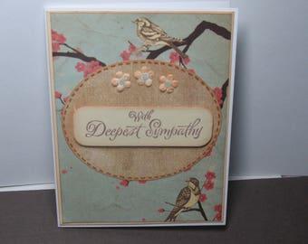 Vintage Look Sympathy Card