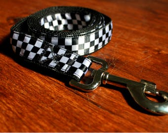 Checkered Leash (6 Ft)