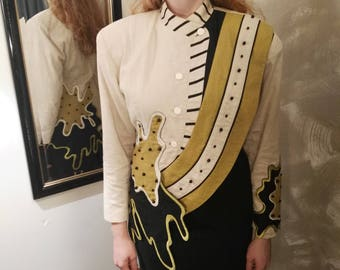 Japanese avant garde Korii Joko jacket ' 80