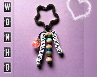 Monsta X K-pop key chain