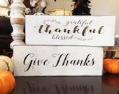 Farmhouse Gratitude Sign