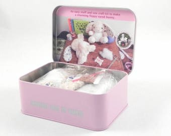 Sew Me Up Floral Bunny Kit by Apples To Pears -