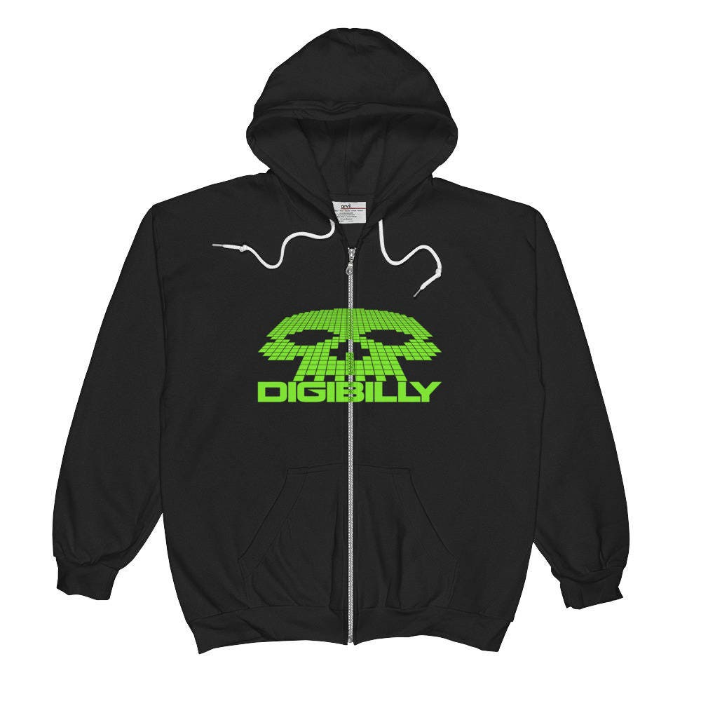 Digibilly Logo Zip Hoodie...