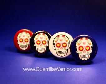 Dia de los Muertos (1.25 inch pin-back button)
