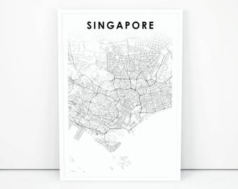 Baby wall decor singapore map