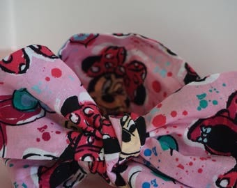 Minnie Mouse Pink Head Wrap
