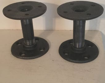 Handmade Steampunk Candle Holders