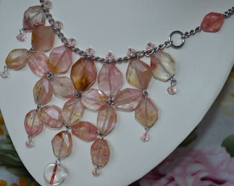 "Necklace tourmaline quartz ""Vavylon"""