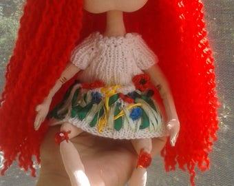 Interior handmade doll