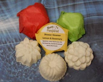 Shower Steamer ( Lemon and Rosemary ) 6 Pack