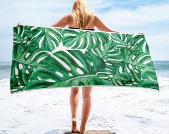 Monstera Towel