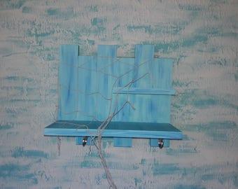 Ocean blue shelf