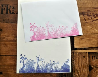 Wildflower Meadow Letter/Writing/Stationary Set