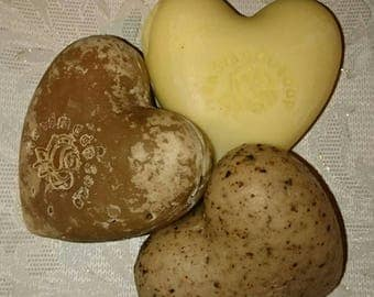 Natural Soap Assorted Heart