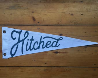 Hitched Pennant Flag