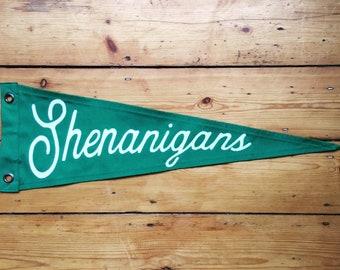 Shenanigans Pennant Flag