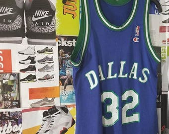 Champion Mavericks Jersey Jamal Mashburn