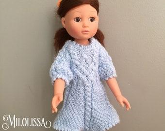 Dress braids for doll Corolla 35 cm