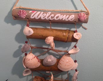Welcome Bamboo Wind chime