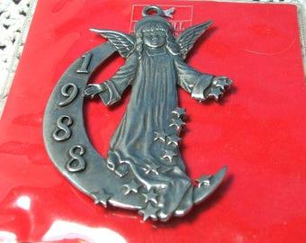 Angel Ornament, 1988 Harrah's Hotel and Casino Employee Gift