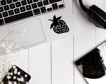 Strawberry Sticker - Strawberry Decal - Strawberry -  Fruit Sticker - Laptop Sticker - Fruit - Helmet Sticker - Car Sticker - Berry Sticker