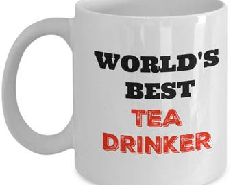 Original Tea Mug - World's Best Tea Drinker