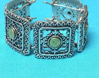 Slap bangle bullet casing bracelet