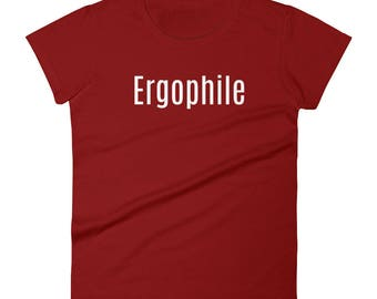 Ergophile Tshirt Women's short sleeve t-shirt