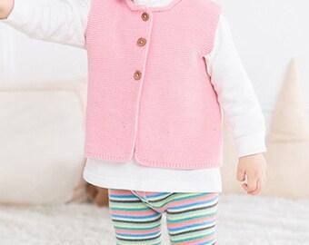 Kuzzy Design Baby Knit Vest,Newborn/3/6/9/12/18/24 months Baby Knitted Vest