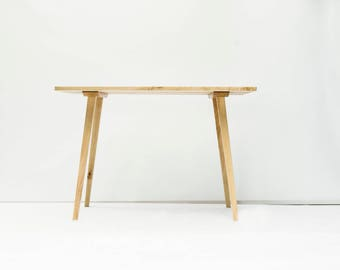 Wooden desk made of solid wood