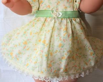 Hand made dolls dress
