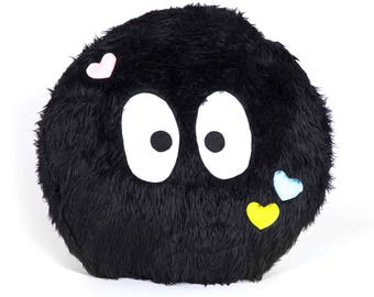 Black Monster Pillow