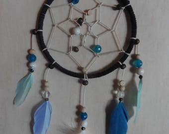 10 cm Blue dream catcher