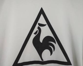 Vintage Le Coq Sportif Jersey big logo