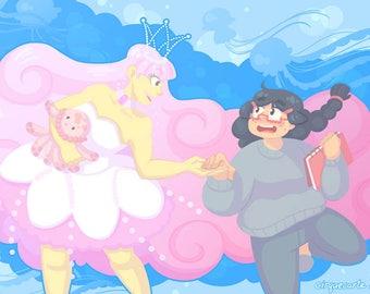 "Princess Jellyfish: 11""x17"" Poster"