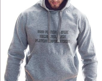 Difference Good Player And Great Player Hoodie #R