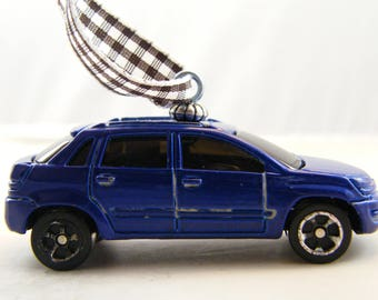 Traverse - FREE SHIPPING - Anytime Ornament - Chevy - 2000 Chevrolet - fathers day - birthday - dad - gift - sedan - car