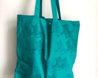 Deckchair Tote Bag
