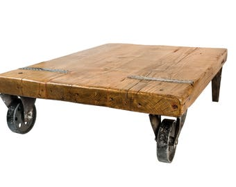 The Cart Coffee Table