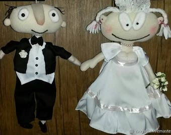 Wedding puppets