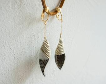 Beads Earring White