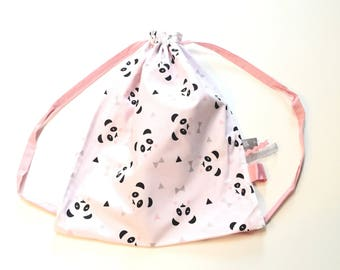 Bag back - plush panda kids backpack