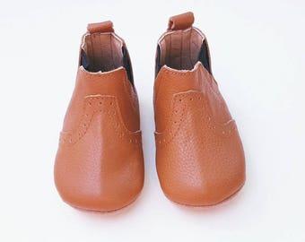 Tan Leather Boot