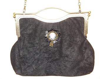 Metal nozzle bag. Camargo Negro
