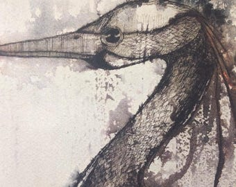 Limited offer! While supplies last.Small print Heron