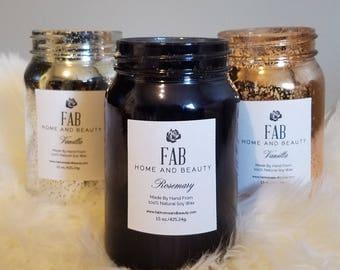 15 oz Jar Soy Candle